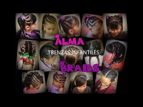 Trenzas para niñas, hairstyles girls