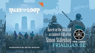 Game Geeks #288 Tales from the Loop by Free League and Simon Stålenhag