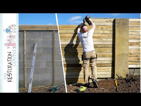 How I Transformed This Old Block Wall - DIY Timber Cladding Project