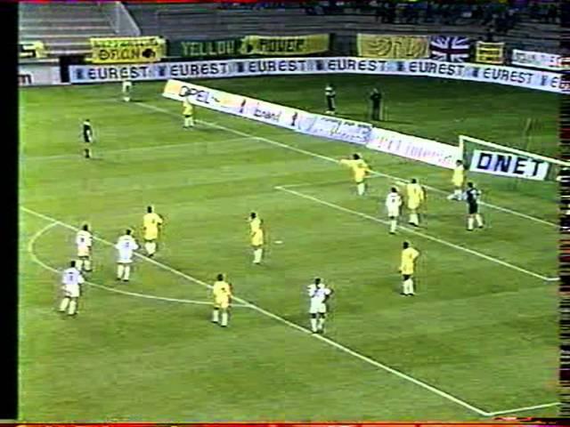 Nantes-Brest saison 1990/91 part.1