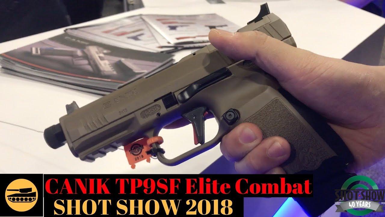 Canik TP9SF Elite Combat (Quick Look)