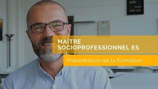 Yann - Maître socioprofessionnel ES (en formation)
