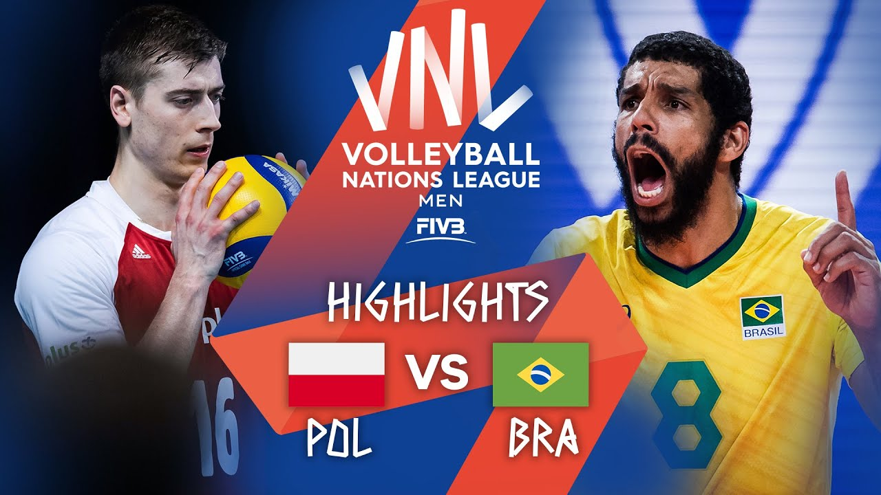 Download POL vs. BRA - Highlights Week 3 | Men's VNL 2021