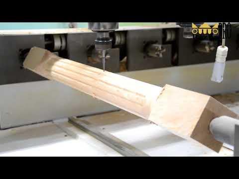 Обработка заготовки из массива дерева