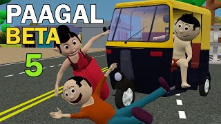 PAAGAL BETA 5 | Jokes | CS Bisht Vines | Desi Comedy Video | School Classroom Jokes