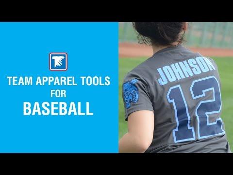 Team Apparel Tools for Baseball