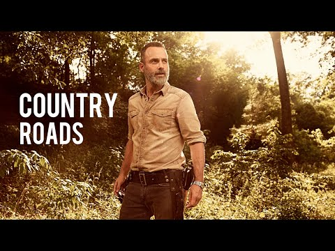 Rick Grimes Tribute-Country Roads[Merlin's Final Song]