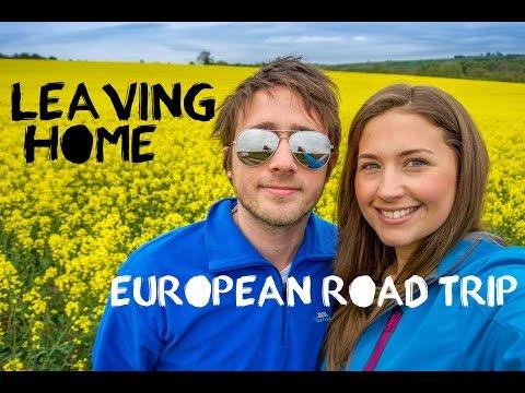 European Road Trip Adventure - England & Wales - Travel Vlog Part 1