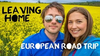European Road Trip Adventure - England & Wales - Travel Vlog Part 1