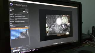 Dual Xeon X5650 Cinebench ( HP Z800 worstation )