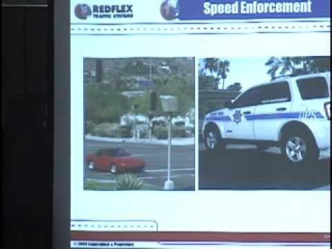 RedFlex Red Light camera meeting Part 3