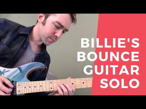 Billie's Bounce - Jazz Blues Guitar W/tabs
