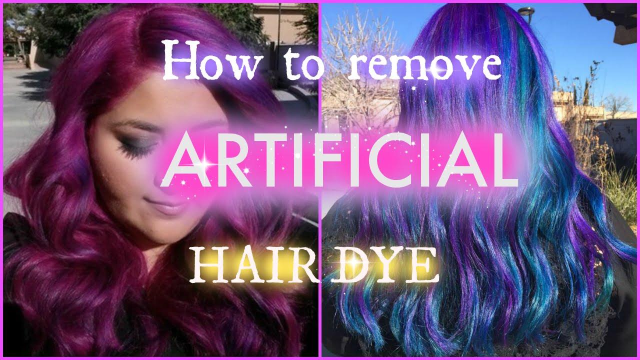 How To Remove ARTIFICIAL Hair Dye Using Pravana Hair