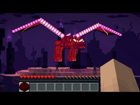 Minecraft Infinito #34: SE VOCÊ ENCONTRAR ESSE ENDER DRAGON DIFERENTE, FUJA!