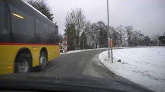 Driving from Mittelhäusern to Münsingen via Oberscherli, Switzerland in 4K