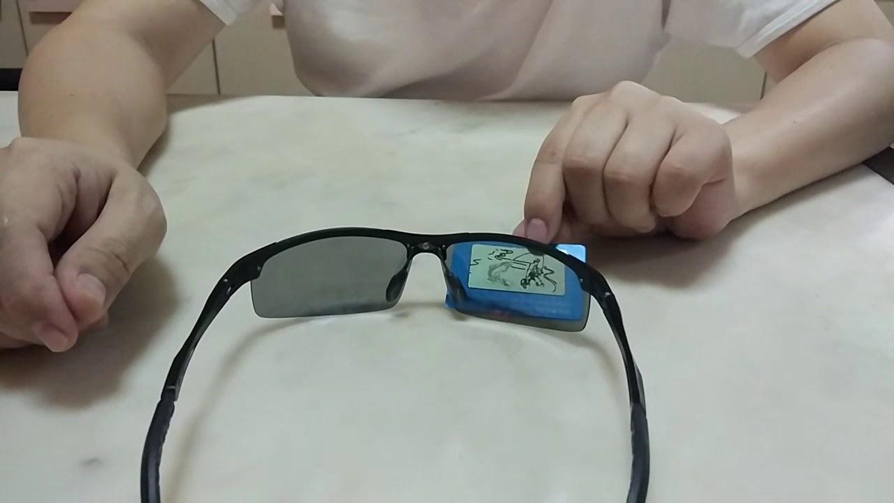 Polarized Photochromic Sunglasses kacamata Hitam Polaroid Photochromic  Sunglasses Otomatis anti UV 6c0d48568f