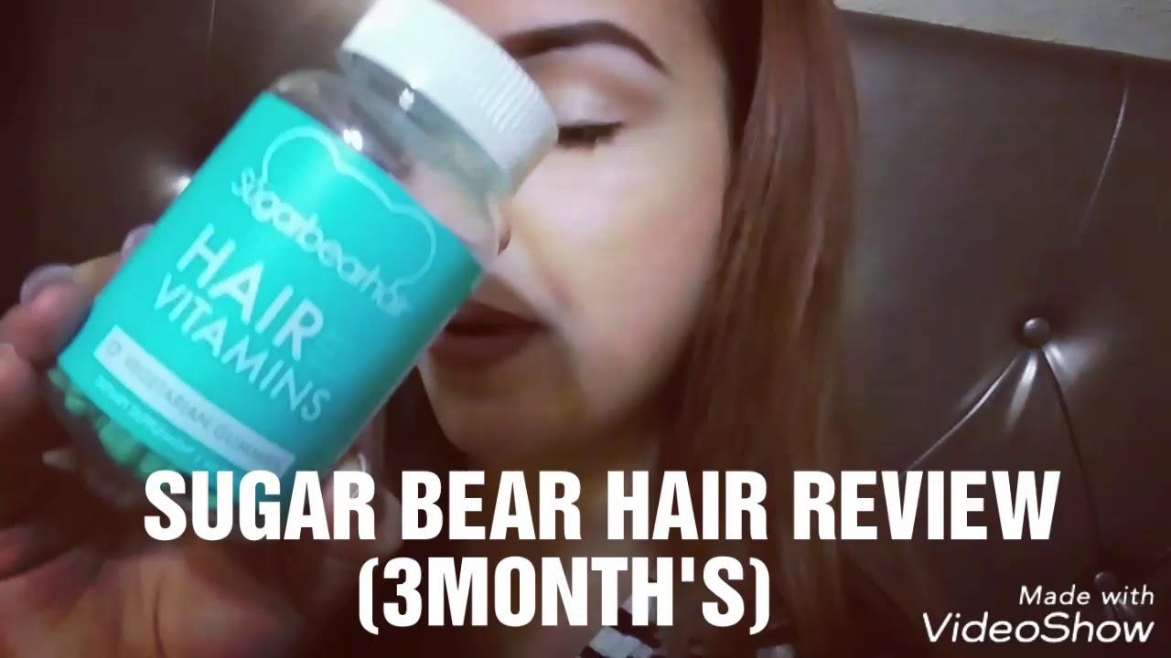 My Sugar Bear Hair Review 3months Youtube