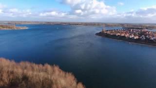 Drone View Oost Haven Camping De Mars