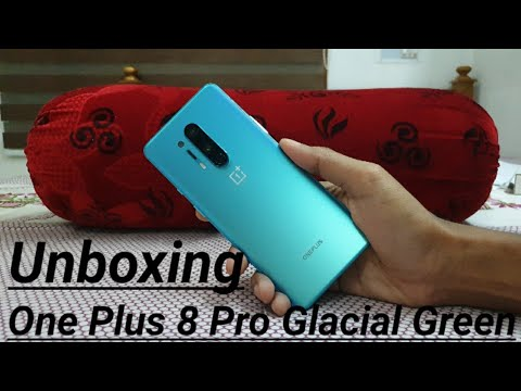 One Plus 8 Pro 12Gb 256Gb Glacial Green Unboxing and First Impression