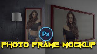 Photo Frame Mockup Download  N PSD Files English Photoshop Tutorial