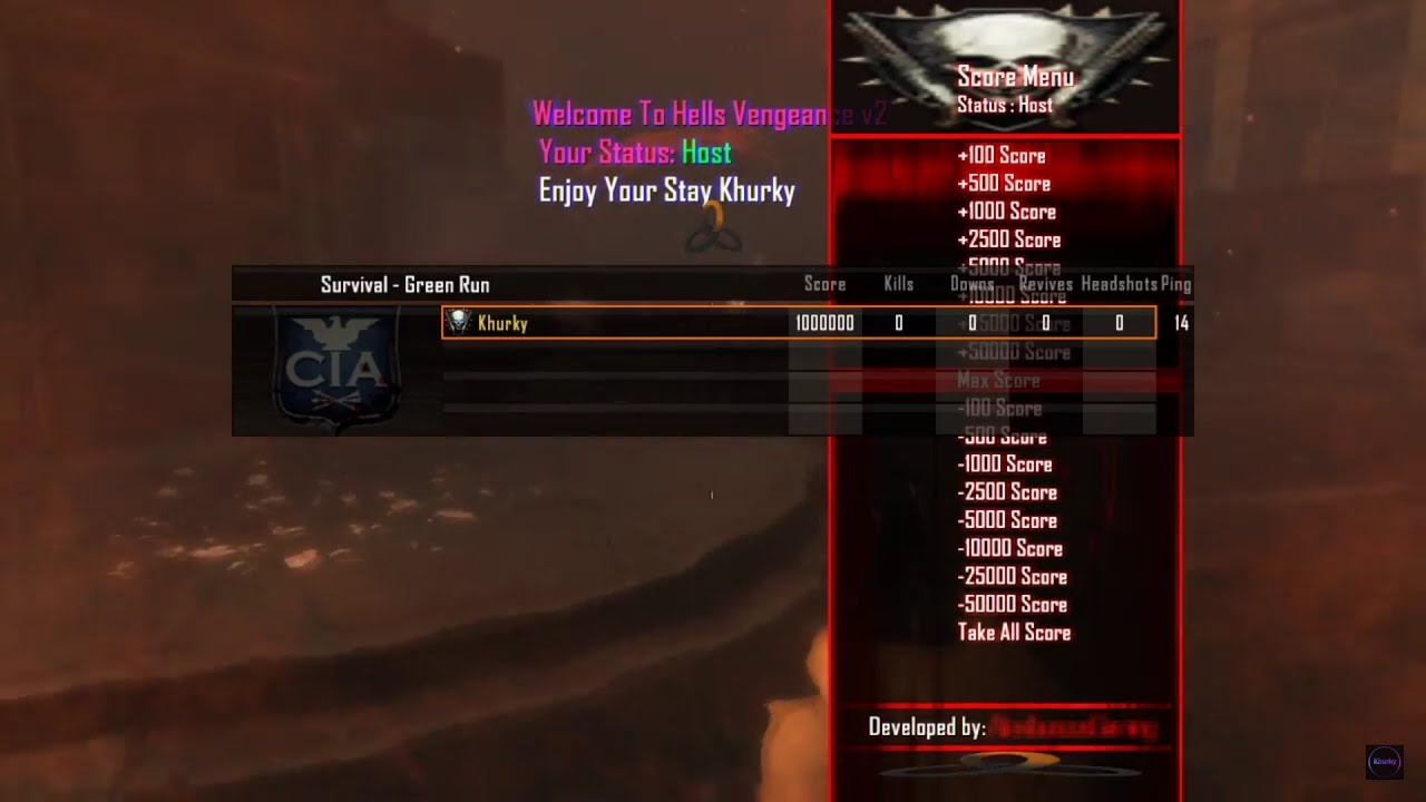 How To Get Mod Menus on Black Ops 2 Zombies PC/Xbox360/PS3