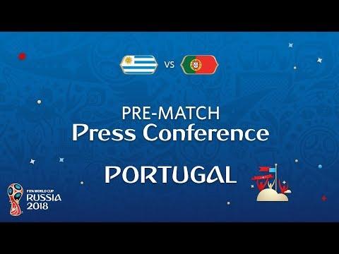 2018 FIFA World Cup Russia™ - URU vs POR - Portugal Pre-Match Press Conference