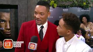Jaden Smith Critiques His Dad's Red Carpet Style