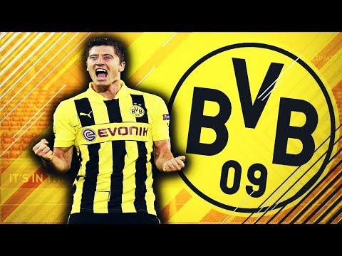 Pleaca Robert Lewandowski Transfer de 130.000.000 Euro || FIFA 18 România Dortmund #14