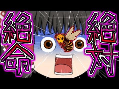 【ゆっくり茶番】霊夢の顔にスズメバチが!?霊夢、絶体絶命!!