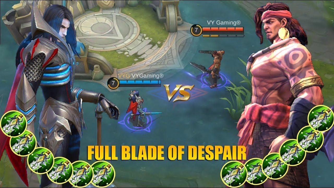 LEOMORD VS LAPU LAPU 5 SKILLS LAWAN 6 SKILLS SIAPAKAH FIGHTER TERBAIK MOBILE LEGENDS