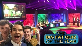 That time I was on Big Fat Quiz of the year