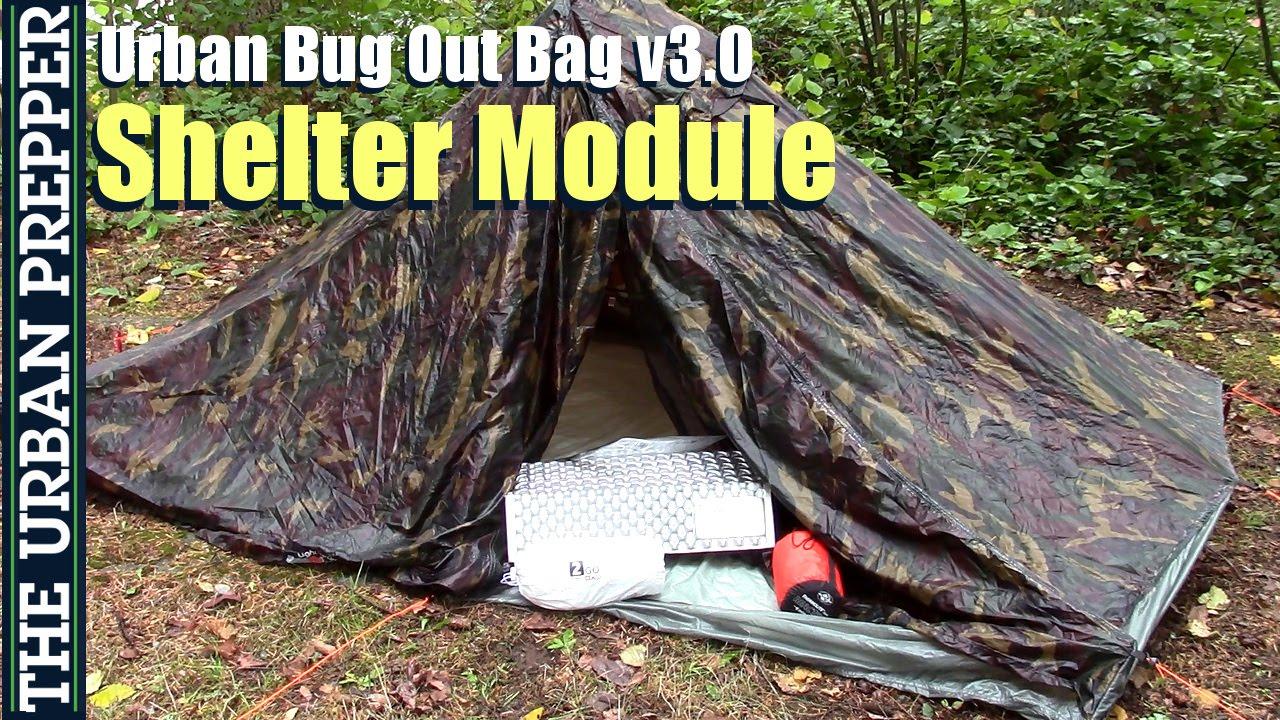 & Shelter Module | Urban Bug Out Bag | Version 3.0 - YouTube
