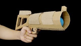 How To Make Ping Pong Ball Gun from Cardboard