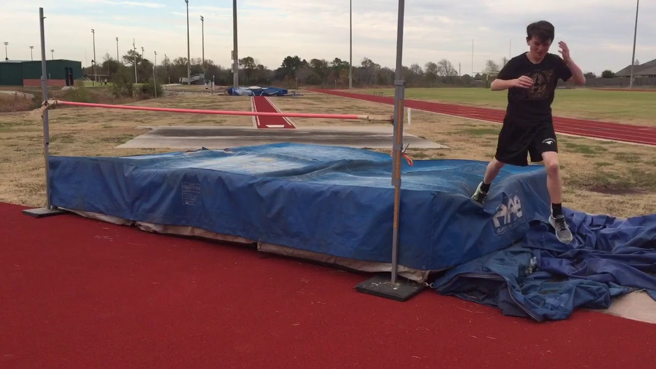 field track system sportsedge high rubber jump sports mats long equipment pits new mat and pit