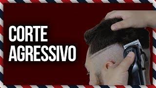 CORTE MARCADO E AGRESSIVO