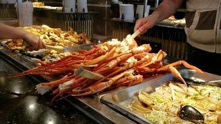 Tiệm buffet ngon, giá rẻ ở bắc California. Ăn bao bụng ở Mỹ