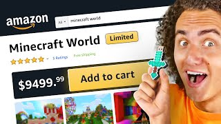 Buying The MOST EXPENSIVE Minecraft World From AMAZON!