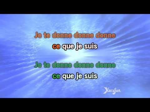 Karaoké Je te donne - Jean-Jacques Goldman *