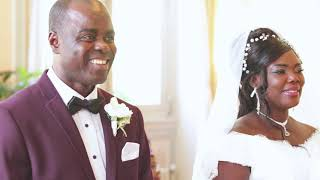 Bismark and Abena wedding