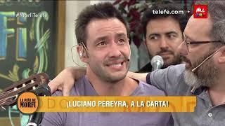 """Luciano Pereyra cantó """"Tu mano"""" y se quebró en lágrimas -..."""