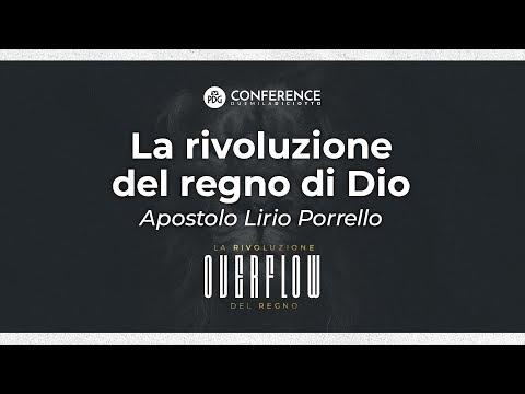 PDG Conference 2018 - La rivoluzione del regno di Dio - Apostolo Lirio Porrello