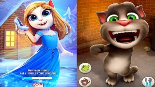 My Talking Angela VS Talking Tom Cat Android Gameplay