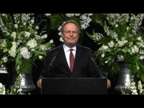 Muhammad Ali Funeral | Billy Crystal Imitates Ali