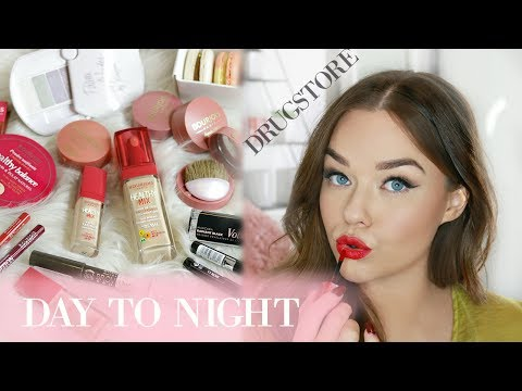 Drugstore/ Affordable Parisian Day To Night Makeup Tutorial | Michelle Crossan