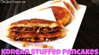 Korean Street Food Sweet Stuffed Pancakes 호떡 Recipe