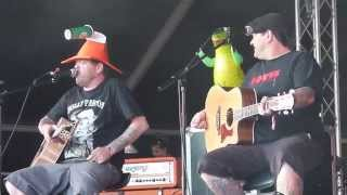 Bowling For Soup (acoustic) - Two Seater + Almost, live @ Download Festival 2014