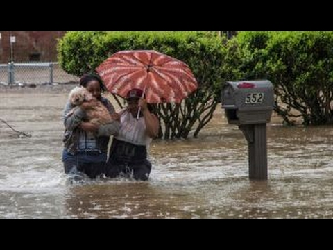 Heavy rain causes flooding, power outages in South