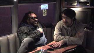 "(2/3) SPHEREmag Interviews Skindred on ""Shark Bites & Dog Fights"" Tour in Leeds 2009"