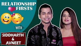 Relationship Firsts With Siddharth Nigam & Avneet Kaur | Telly Reporter Exclusive