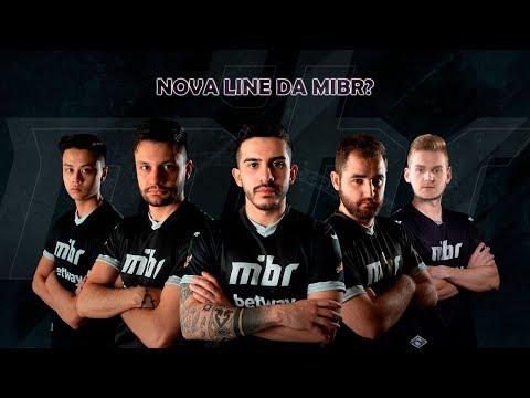 NOVA LINE da MIBR?! Niko na MIBR?